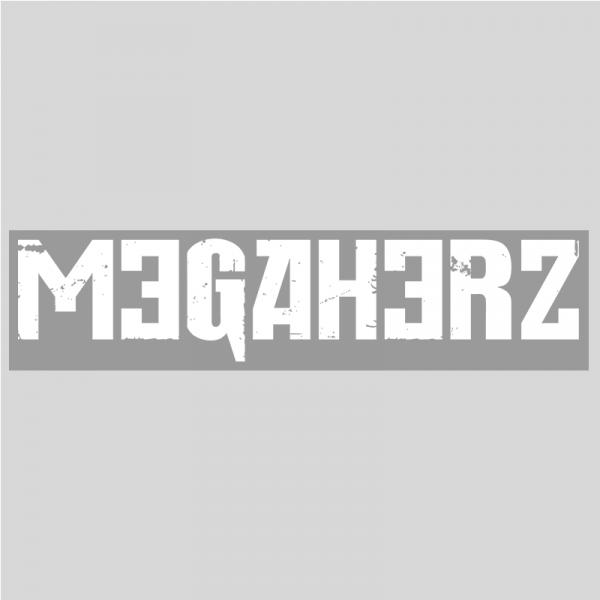 MEGAHERZ Heckscheibenaufkleber 50cm